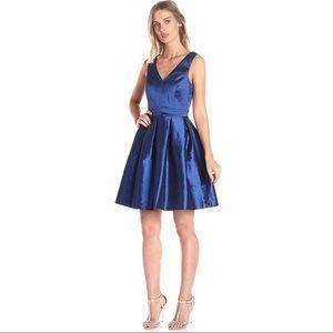 Taffeta Bow Back Party Dress